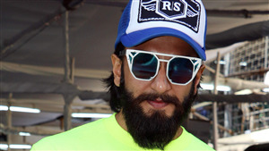 New Saving Style Look of Actor Ranveer Singh