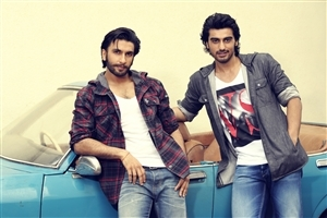 Ranveer Singh and Arjun Kapoor Photo