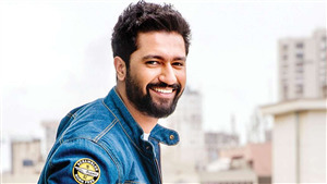 Vicky Kaushal Smiling Face Photo