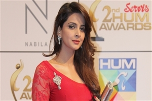 Beautiful Saba Qamar HD Wallpaper