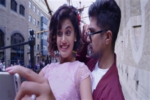 Dil Juunglee Film Star Saqib Saleem With Tapsee Pannu