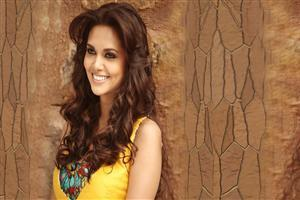 Esha Gupta in Yellow Dree