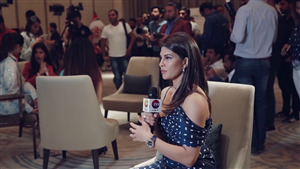 Jacqueline Fernandez in Interview Photo