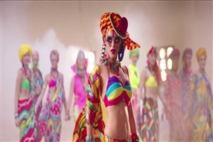 New Stylish Colorful Look of Sunny Leone in Ek Paheli Leela Bollywood Film Wallpapers