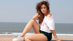 Nushrat Bharucha Bollywood Actress 5K Wallpaper