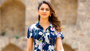 Rakul Preet Singh Actress Beautiful Wallpaper
