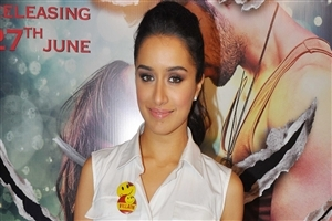 Shraddha Kapoor in White Shirt Photo