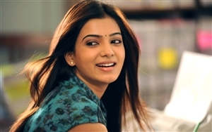 Smile Face of Indian Actress Samantha