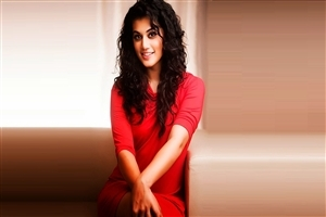 Taapsee Pannu in Dil Juunglee Movie Wallpaper