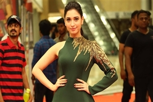 Tamannaah Bhatia in Green Dress