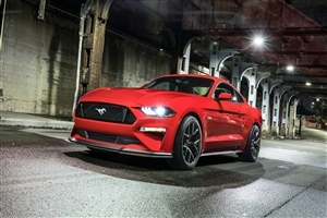 2018 Ford Mustang GT Car 4K Wallpaper