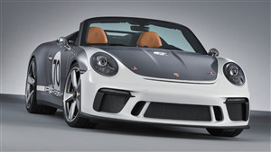 2018 Ongoing Porsche 911 Speedster Concept Car