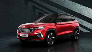 2019 Skoda Vision GT SUV Car 5K Wallpaper