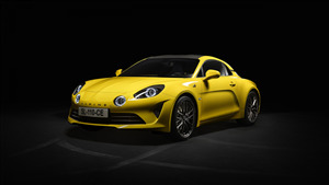 2020 Alpine A110 Yellow 4K Car