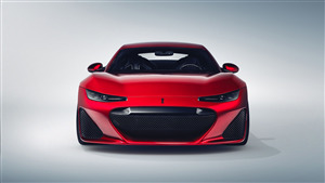 2020 Drako GTE 4K Red Car