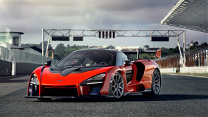 4K Wallpaper of 2019 Mclaren Senna Car