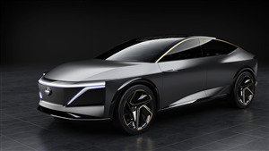 4K Wallpaper of Nissan IMs EV Concept Car