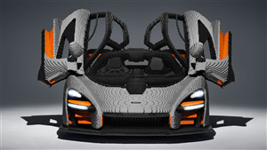 5K Wallpaper of 2019 Lego Mclaren Senna Car