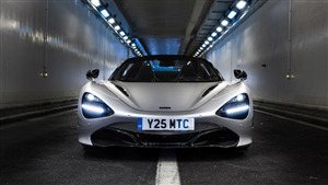 8K Wallpaper of 2019 McLaren 720S Spider Car
