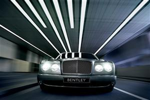 Bentley Car with Light On