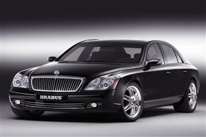 Black BRABUS Maybach Car