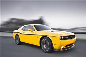 Dodge Challenger Yellow Jacket Car