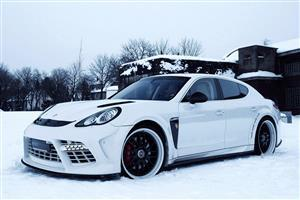 Edo Competition Turns Porsche Panamera Turbo Car Image