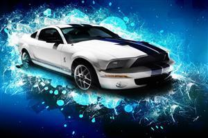Ford Mustang GT Car