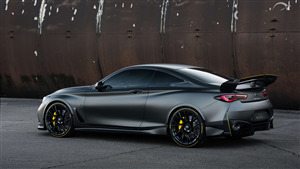 Infiniti Project Black S 4K Car