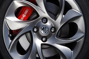MG Car Wheel Wallpaper