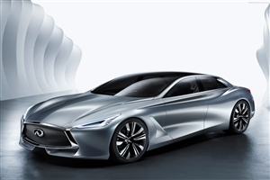 New Infiniti Q80 Inspiration Concept 2014 Car HD Wallpapers