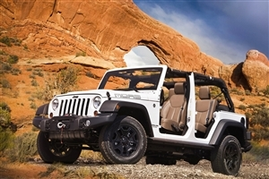Open Jeep Car Wallpaper