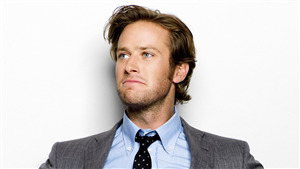 Armie Hammer Dashing Actor Look
