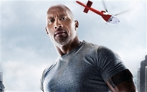 Famous Actor Dwayne Johnson Wallpaper