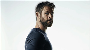 Handsome Actor Chris Hemsworth 5K Wallpaper