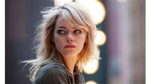 American Actress Emma Stone Beautiful Look 4K Photo
