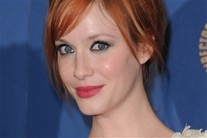 Beautiful American Christina Hendricks Actress HD Wallpaper