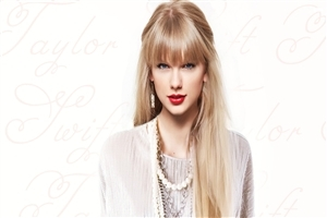 Beautiful Hair Style of Taylor Swift Wallpaper
