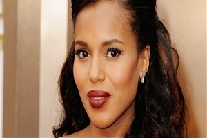 Beautiful Kerry Washington American Actress Celebrity Wallpaper