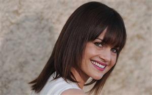 Carla Gugino Cute Smile Wallpaper