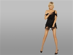 Charlize Theron in Black Hot HD Wallpapers