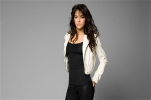 Crazy Look of Michelle Rodriguez Actress Photo