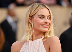 Cute Smile of Margot Robbie