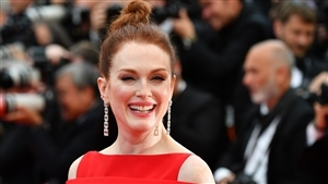 Julianne Moore at 2018 Cannes Film Festival 4K Wallpaper