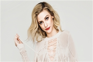 Lili Reinhart Actress 4K Wallpaper