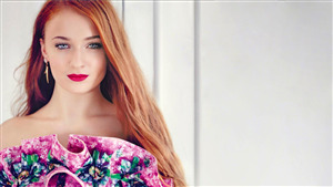 Pretty Look of Sophie Turner English Actress