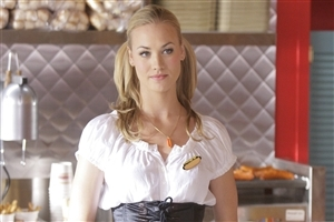 Yvonne Strahovski Australian Actress HD Wallpapers Background