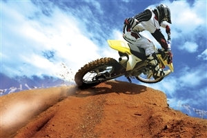 Motocross Bike Riding Sport Wallpaper