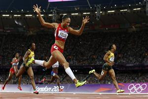 Woman Athletics of London Olympics