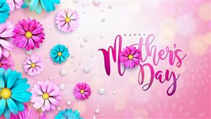 Beautiful Happy Mothers Day 5K Wallpaper